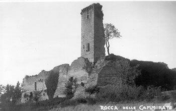 Rocca Delle Caminate Prima del Restauro